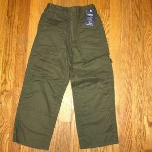 Oshkosh Khaki Cargo Pants Boys Sz 6
